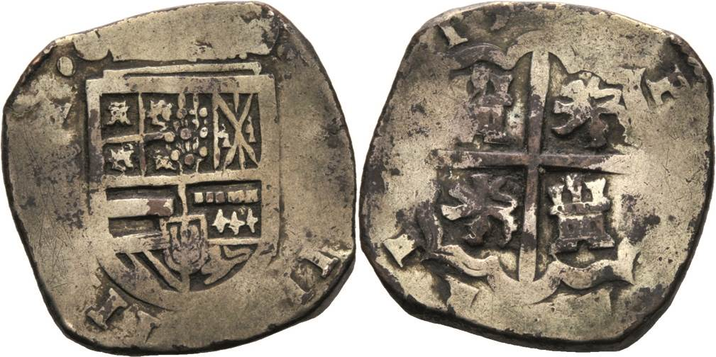 4 reales Felipe III Sevilla 00638Q00